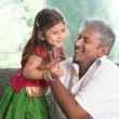 Father playing with kid — Stock Photo #79645980