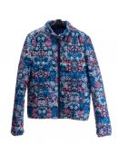 Jacket with floral pattern — Stock Photo