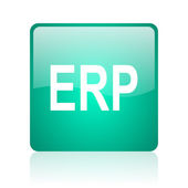 Erp internet icon — Stock Photo