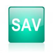 Sav internet icon — Stock Photo