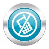 No phone internet icon — Stock Photo