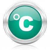 Celsius internet icon — Stock Photo