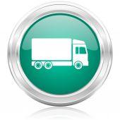 Delivery internet icon — Stock Photo