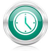 Time internet icon — Stock Photo