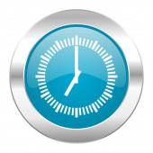 Time internet blue icon — Stock Photo