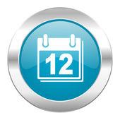 Calendar internet icon — Stock Photo