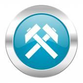 Mining internet icon — Stock Photo