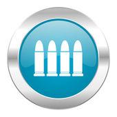 Ammunition internet icon — Stock Photo