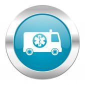 救急車インターネット アイコン — ストック写真