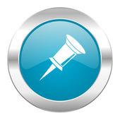 Pin internet icon — Stock Photo