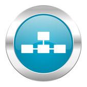 Database internet icon — Stock Photo