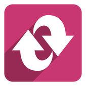 Arrow flat icon — Stock Photo