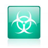 Biohazard internet icon — Stock Photo