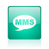 Mms internet icon — Photo
