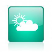 Chmura ikona internet — Zdjęcie stockowe