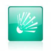 Bomb internet icon — Stock Photo