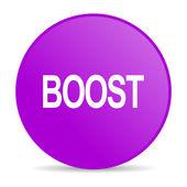 Boost web icon — Stock Photo