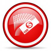 Money web icon — Stock Photo