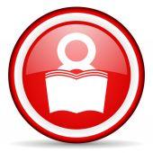 Book web icon — Stock Photo