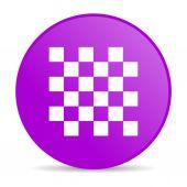 Chess web icon — Stock Photo