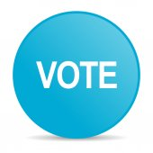 Vote internet icon — Stock Photo