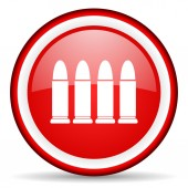 Ammunition web icon — Stock Photo
