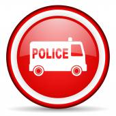 Police web icon — Stock Photo