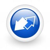 Exchange icon — Stock Photo