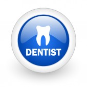 Dentist icon — Stock Photo