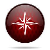 Reg glossy web icon — Foto Stock