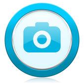 Photo camera icon photography sign — Stock Photo
