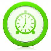 Alarm icon alarm clock sign — Стоковое фото