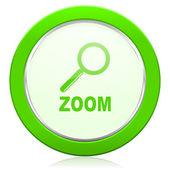 Icono de zoom — Foto de Stock