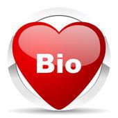 Bio valentine icon  — Foto de Stock