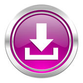 Download violet icon  — Stock Photo