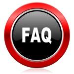 Faq icon — Stock Photo #62940107