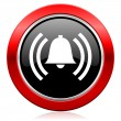 Alarm icon alert sign bell symbol — Stock Photo #62943153