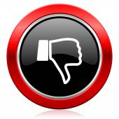Dislike icon thumb down sign — Stock Photo