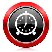 Alarm icon alarm clock sign — Stock Photo