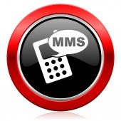 Mms icon phone sign — Stockfoto