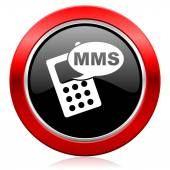 Mms icon phone sign — Stock Photo