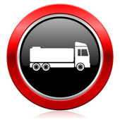 Truck icon cargo sign — Stock Photo