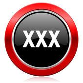 Xxx icon porn sign — Stock Photo