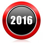 New year 2016 icon new years symbol — Stock Photo