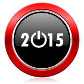 New year 2015 icon new years symbol — Stock Photo