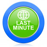 Last minute icon — Stock Photo #63918377