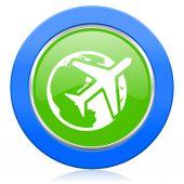 Cestovní ikona — Stock fotografie