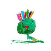 Children's illustration of the animal — Stock Vector