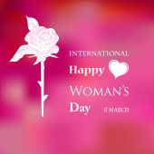 Woman's Day — Stock Vector