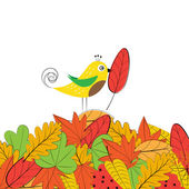 Colorful autumn — Stock Vector